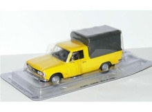 MAGAZINE MODELS 1:43 - POLSKI FIAT 125P PICKUP *POLISH CARS* YELLOW