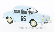 MAGAZINE MODELS 1:43 - RENAULT DAUPHINE GORDINI, NO.65, RALLY MONTE CARLO G.MONRAISSE/J.FERET, WITHOUT SHOWCASE