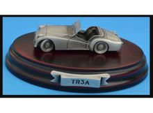 MAGAZINE MODELS 1:43 - TRIUMPH TR3A *TIN CLASSIC CAR COLLECTION*, SILVER