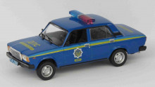 MAGAZINE MODELS 1:43 - VAZ 2107 POLICE CARS OF THE WORLD
