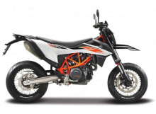 MAISTO 1:18 - KTM 690 SMC R, BLACK/WHITE/ORANGE