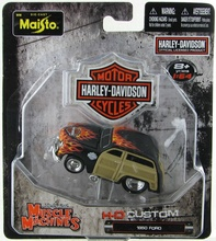 MAISTO 1:64 - HARLEY DAVIDSON MUSCLE MACHINES 1950 FORD