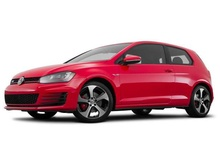 MAISTO 1:64 - VOLKSWAGEN GOLF GTI 2016, RED