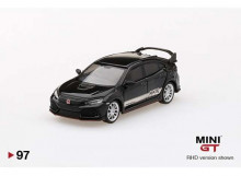 MINI GT 1:64 - HONDA CIVIC TYPE R *HKS*, BLACK