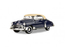 MOTORMAX 1:18 - CHEVRROLET BEL AIR 1950, DARK BLUE