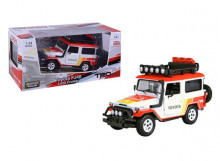 MOTORMAX 1:24 - TOYOTA FJ40 1974 HARD TOP OFF ROAD VERSION WITH ROOF RACK *TOYOTA*