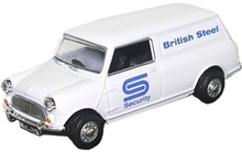 OXFORD 1:43 - MINI VAN BRITISH STEEL