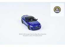 PARA64 1:64 - BMW M8 COUPE *LEFT HAND DRIVE*, BLUE