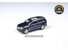 PARA64 1:64 - BMW X7 *LEFT HAND DRIVE*, TANZANITE BLUE
