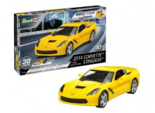 REVELL 1:25 - CORVETTE STINGRAY 2014 LEVEL 2, PLASTIC MODELKIT