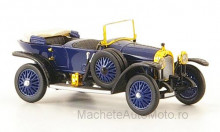RICKO 1:87 - AUDI ALPINE CHAMPION, DARK BLUE/BLACK, RHD