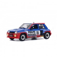 SOLIDO 1:18 - RENAULT R5 TURBO GROUPE B 1984 #16, BLUE