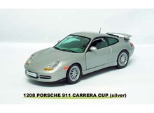 SUNSTAR 1:18 - 1998 PORSCHE 996 CARRERA COUPE, SILVER