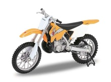 WELLY 1:18 - SUZUKI RM250, YELLOW