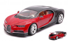 WELLY 1:24 - BUGATTI CHIRON RED/BLACK