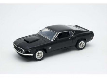 WELLY 1:24 - FORD MUSTANG BOSS 429 1970, BLACK