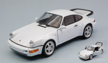 WELLY 1:24 - PORSCHE 911 (964) TURBO WHITE
