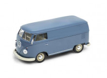 WELLY 1:24 - VOLKSWAGEN T1 PANEL VAN 1962, BLUE