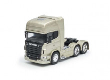 WELLY 1:32 - SCANIA V8 R730 (6X4) 2015, GOLD