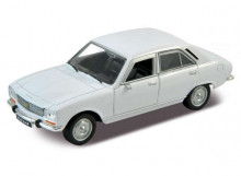WELLY 1:34 - PEUGEOT 504 1975, WHITE