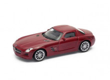 WELLY 1:43 - MERCEDES BENZ SLS AMG 2014, RED