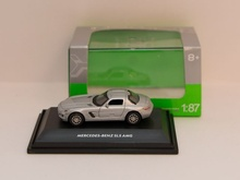 WELLY #1:87 - MERCEDES-BENZ SLS AMG SILBER (73144)
