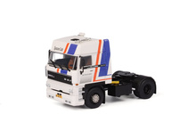 WSI 1:50 - DAF 3300 SC Cab Unit - White (Blue/Red Str