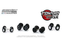 GREENLIGHT 1:64 - TOKYO TORQUE #2 AUTO BODY SHOP *WHEEL & TIRE PACKS SERIES 2*