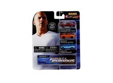 JADA NANO - FAST & THE FURIOUS NANO HOLLYWOOD RIDES 3-PACK