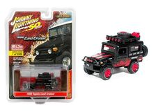 JOHNNY LIGHTNING 1:64 - TOYOTA LAND CRUISER 1980 *OFF ROAD*, RED/BLACK