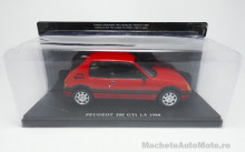MAGAZINE MODELS 1:24 - PEUGEOT 205 GTI 1.9 1986, RED