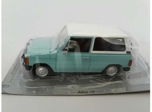 MAGAZINE MODELS 1:43 - ARO 10 *POLISH CARS*, LIGHT BLUE/WHITE