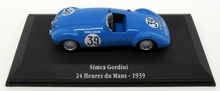 ATLAS 1:43 - SIMCA GORDINI #39 24H LE MANS 1939, BLUE