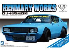 AOSHIMA 1:24 - NISSAN LB WORKS KEN MARY 2DR 2014 VERSION, PLASTIC MODELKIT