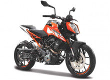 BBURAGO 1:18 - KTM 250 DUKE, ORANGE/BLACK