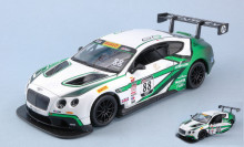 BBURAGO 1:24 - Bentley CONTINENTAL GT3 #88, WHITE/GREEN
