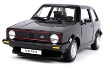 BBURAGO 1:24 - VW GOLF 1 1979, BLACK