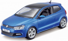 BBURAGO 1:24 - VW POLO GTI M5, BLUE