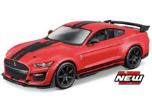 BBURAGO 1:32 - FORD SHELBY GT500 2020, RED/BLACK