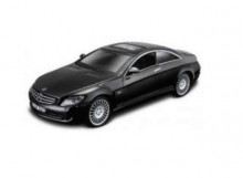 BBURAGO 1:32 - MERCEDES BENZ CL 550 COUPE, BLACK