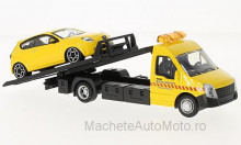 BBURAGO 1:43 - IVECO DAILY TRANSPORT WITH ALFA ROMEO