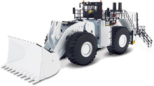 DIECAST MASTERS 1:50 - Cat 994K Wheel Loader Coal Configuration