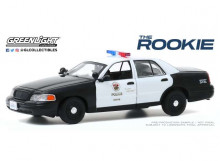 GREENLIGHT 1:43 - FORD CROWN VICTORIA 2008 POLICE INTERCEPTOR LOS ANGELES POLICE DEPARTMENT (LAPD) *THE ROOKIE 201