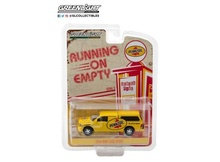GREENLIGHT 1:64 - 2014 RAM 1500 WITH CAMPER SHELL 'PENNZOIL NOT JUST OIL, PENNZOIL', RUNNING ON EMPTY SERIES 5, YELLOW