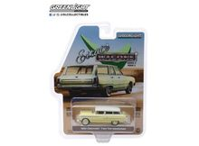 GREENLIGHT 1:64 - CHEVROLET TWO-TEN HANDYMAN 'ESTATE WAGONS SERIES 2' 1955, HARVEST GOLD SHORELINE BEIGE