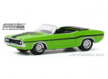 GREENLIGHT 1:64 - DODGE CHALLENGER R/T HEMI 1970 CONVERTIBLE *MUSCLE SERIES 23*, SUBLIME GREEN