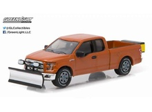 GREENLIGHT 1:64 - FORD F-150 WITH SNOW PLOW AND SALT SPREADER 2015, 'HOBBY EXCLUSIVE'