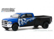 GREENLIGHT 1:64 - RAM 3500 2017 DUALLY MOPAR OFF-ROAD EDITION *DUALLY DRIVERS SERIES 4*, BLACK/BLUE