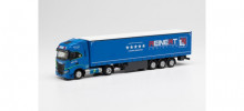 "HERPA 1:87 - Iveco S-Way LNG curtain semitrailer ""Reinert Logistics"""