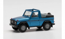 HERPA 1:87 - Mercedes-Benz G-Modell Cabrio, light blue metallic